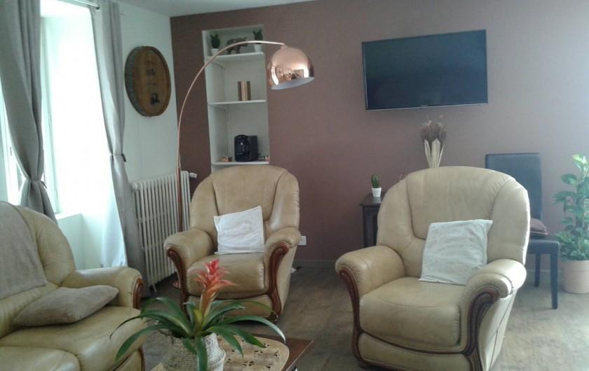 Location de vacances - Gîte à Allassac - salle à manger