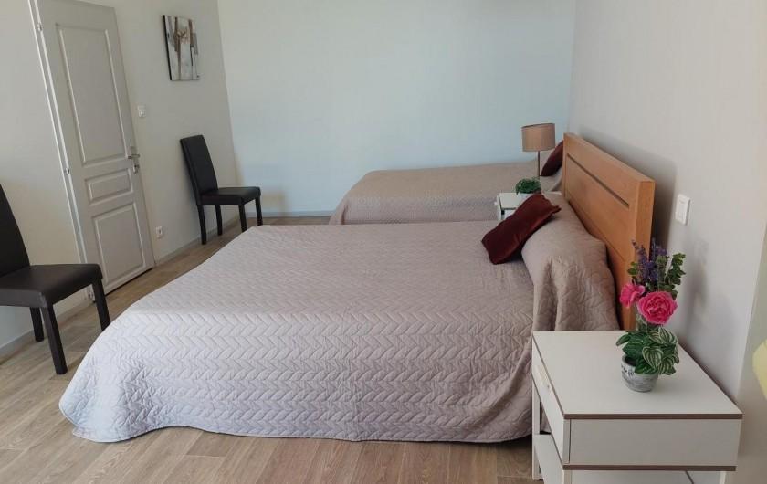 Location de vacances - Gîte à Allassac - Chambre N° 2  (3 pers)