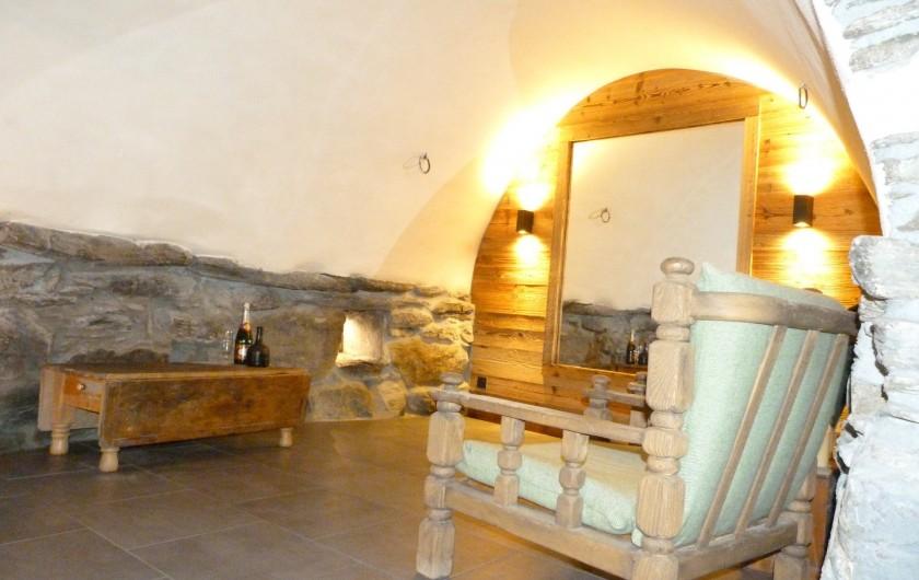 Location de vacances - Chalet à Séez - Petit salon