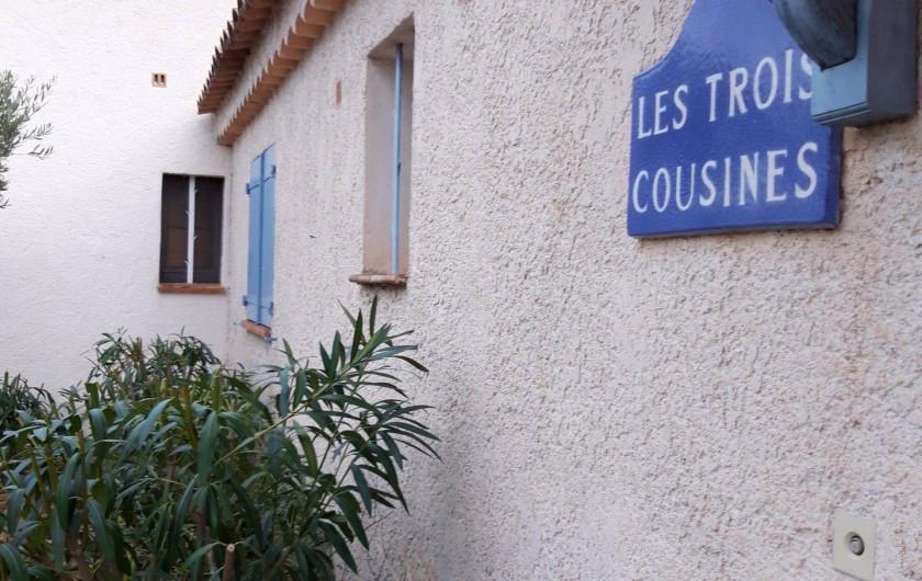 Location de vacances - Villa à Sainte-Maxime - l'entrée