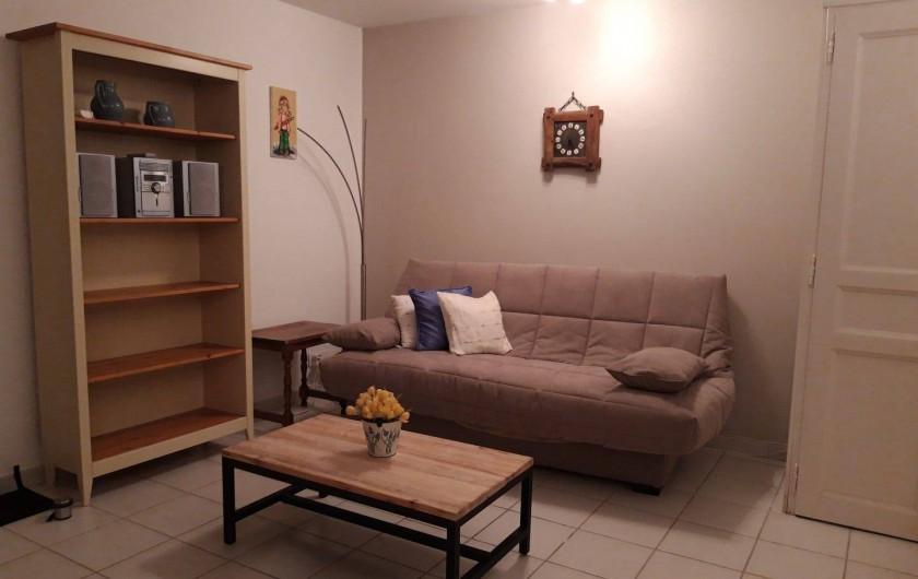 Location de vacances - Villa à Sainte-Maxime - le salon