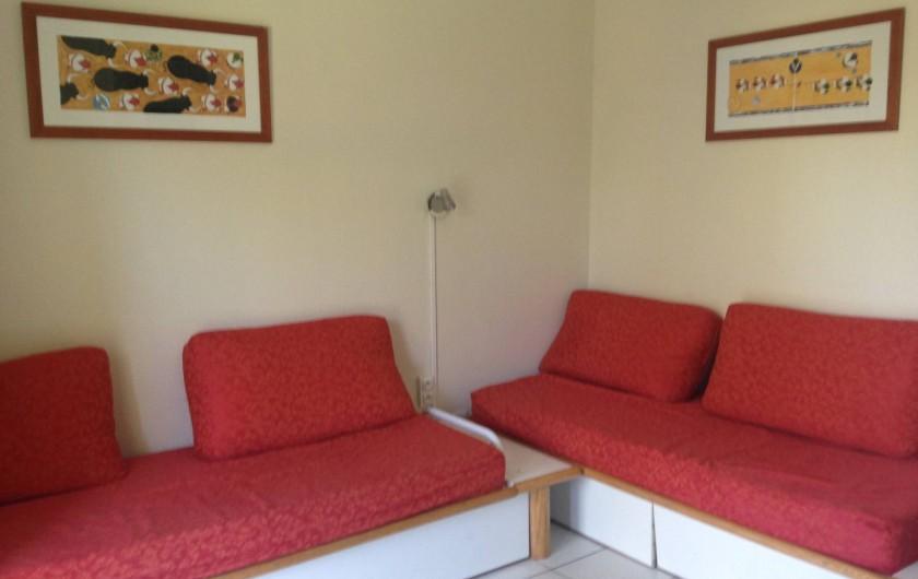 Location de vacances - Appartement à Moliets-et-Maa - Coin salon