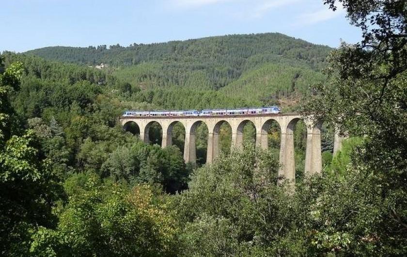 Location de vacances - Gîte à Landos - train touristique dans la vallée de l'allier