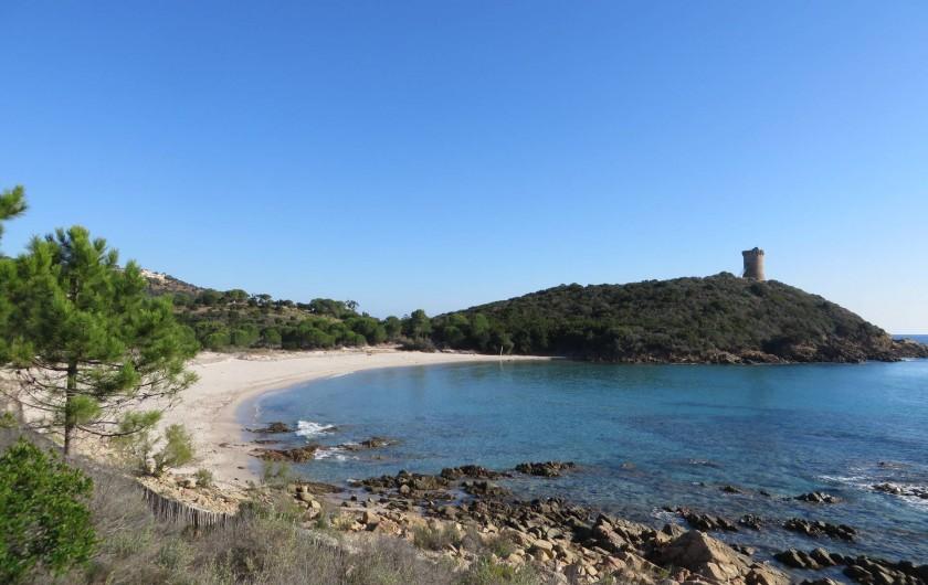 Location de vacances - Villa à Sainte-Lucie de Porto-Vecchio - Plage de Fautéa