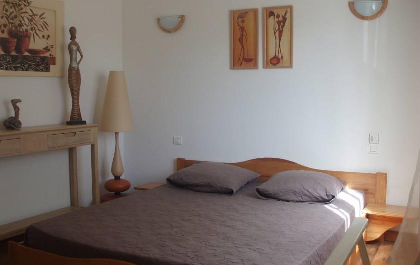 Location de vacances - Villa à Sainte-Lucie de Porto-Vecchio - Chambre 3
