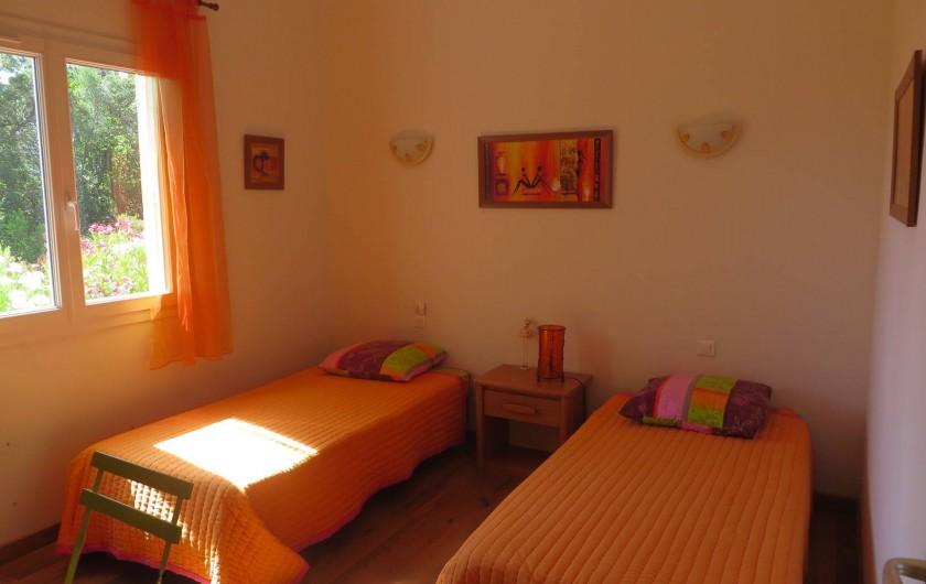 Location de vacances - Villa à Sainte-Lucie de Porto-Vecchio - Chambre 4