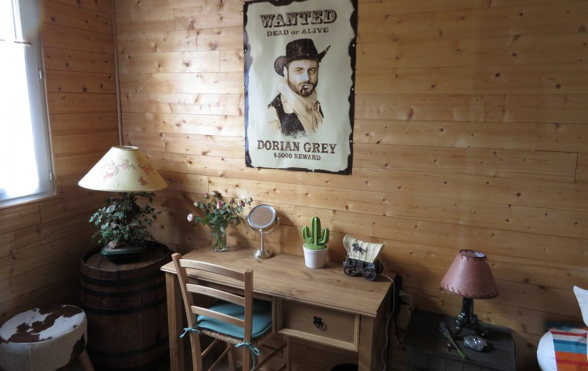 Location de vacances - Chambre d'hôtes à Donzac - La Chambre Dorian GREY (Vue 3)