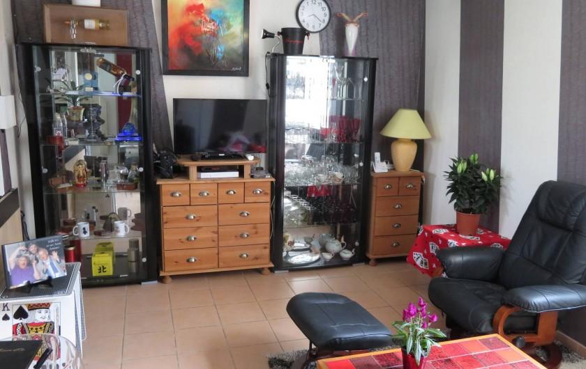 Location de vacances - Chambre d'hôtes à Donzac - Le coin Salon