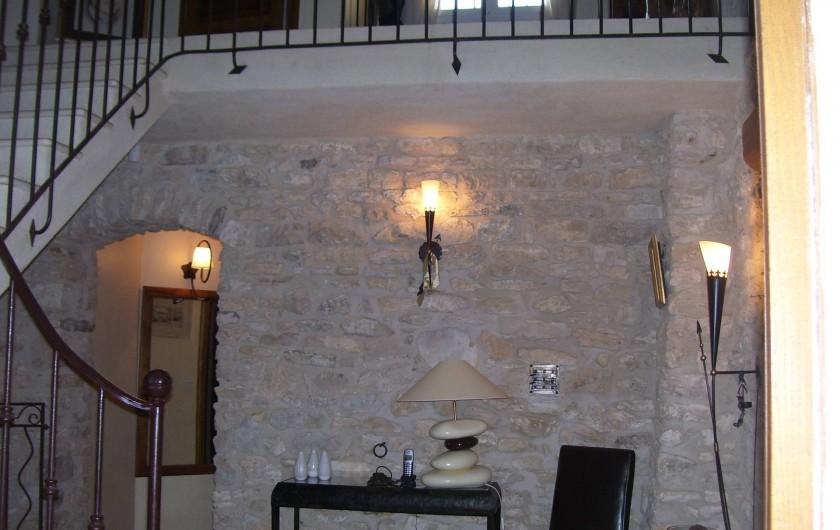 Location de vacances - Mas à Aix-en-Provence - entrée