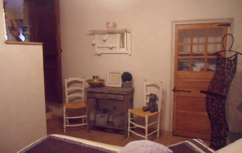 Location de vacances - Mas à Aix-en-Provence - chambre