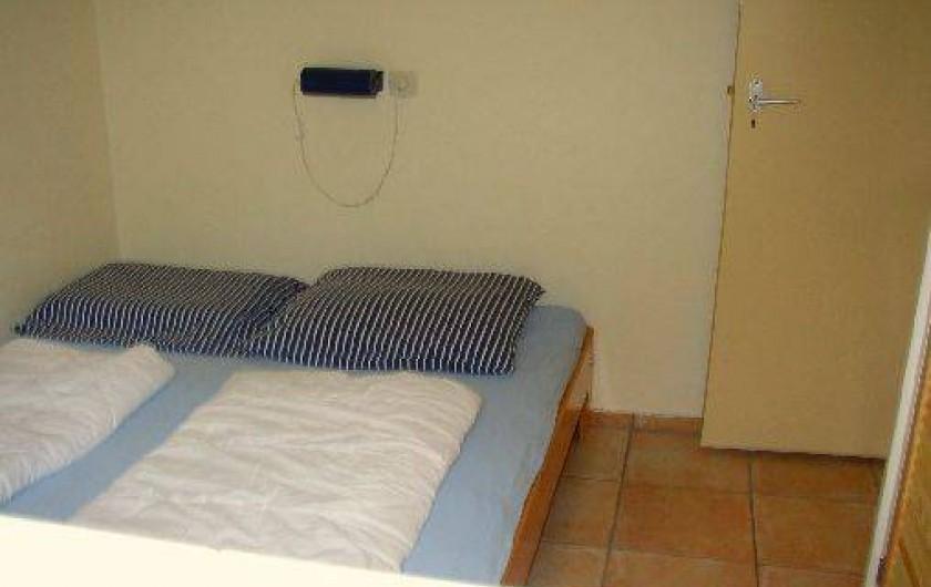 Location de vacances - Bungalow - Mobilhome à Dombourg - Chambre a coucher 3
