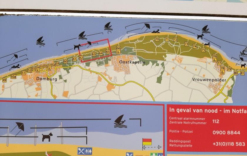 Location de vacances - Bungalow - Mobilhome à Dombourg - Les plages, mer, dunes, forēt
