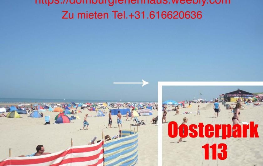 Location de vacances - Bungalow - Mobilhome à Dombourg - Les plages