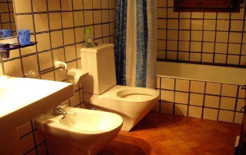 Location de vacances - Villa à Miami Platja - 2ème salle de Bain