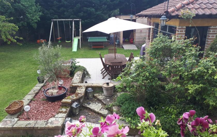 Location de vacances - Chambre d'hôtes à Sélestat - le jardin