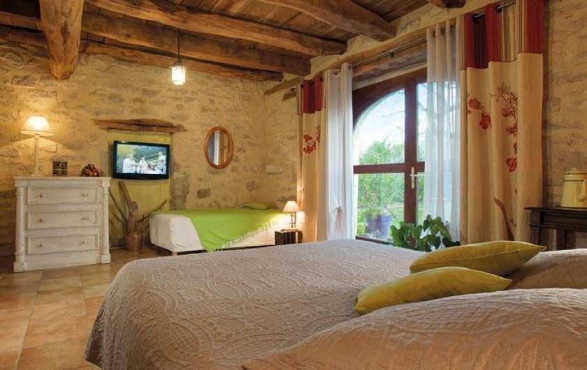 """Location de vacances - Chambre d'hôtes à Espédaillac - Chambre """"Grande Ourse"""""""
