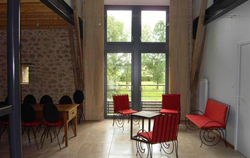 Location de vacances - Gîte à Roussennac - Salle à manger du gîte