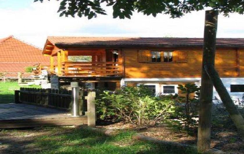 Location de vacances - Roulotte à Mitzach - Chalet Détente