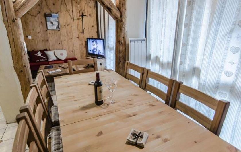 Location de vacances - Appartement à Val-d'Isère - Pour les repas