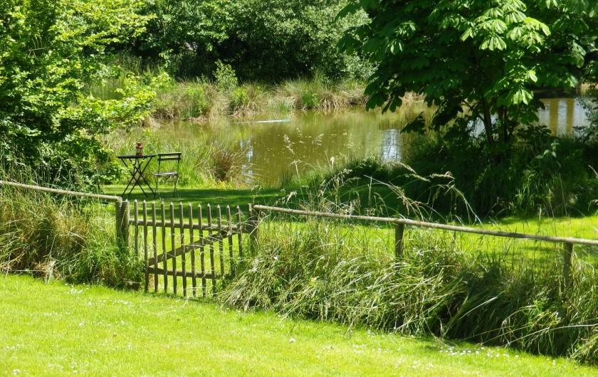 Location de vacances - Roulotte à Saint-Gilles-de-la-Neuville - La pêche