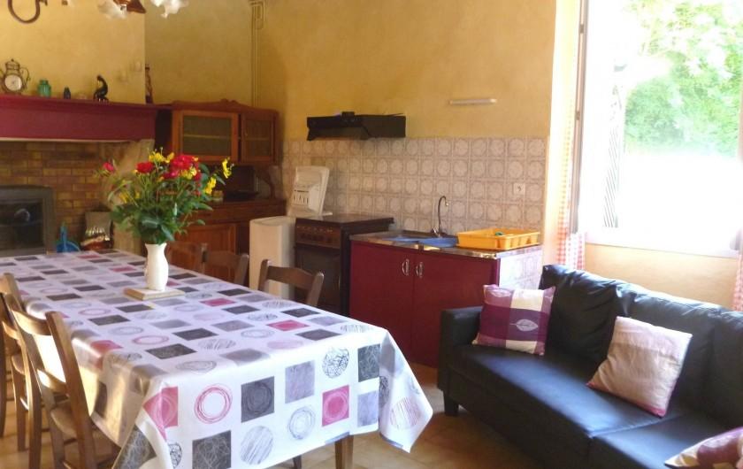 Location de vacances - Gîte à Mascaras - Coin cuisine