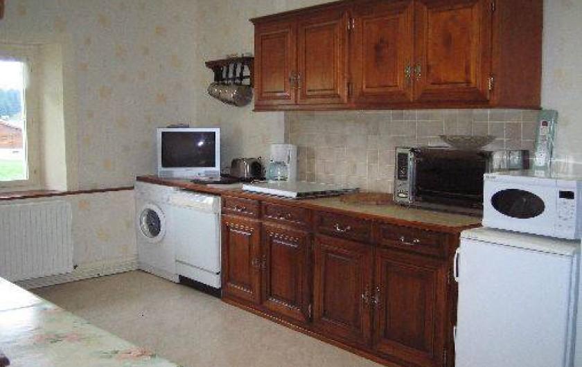 Location de vacances - Appartement à Lajoux