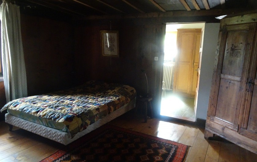 Location de vacances - Chalet à Les Houches - Grande chambre