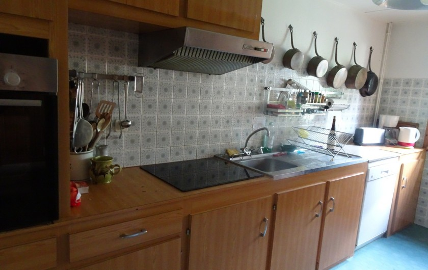 Location de vacances - Chalet à Les Houches - La cuisie
