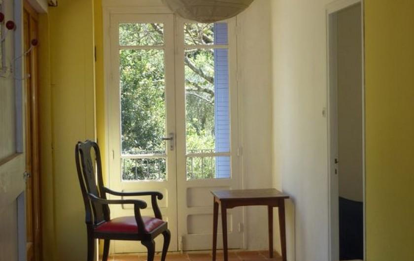 Location de vacances - Gîte à Saint-Vincent-d'Olargues - Coin lecture Gîte 1