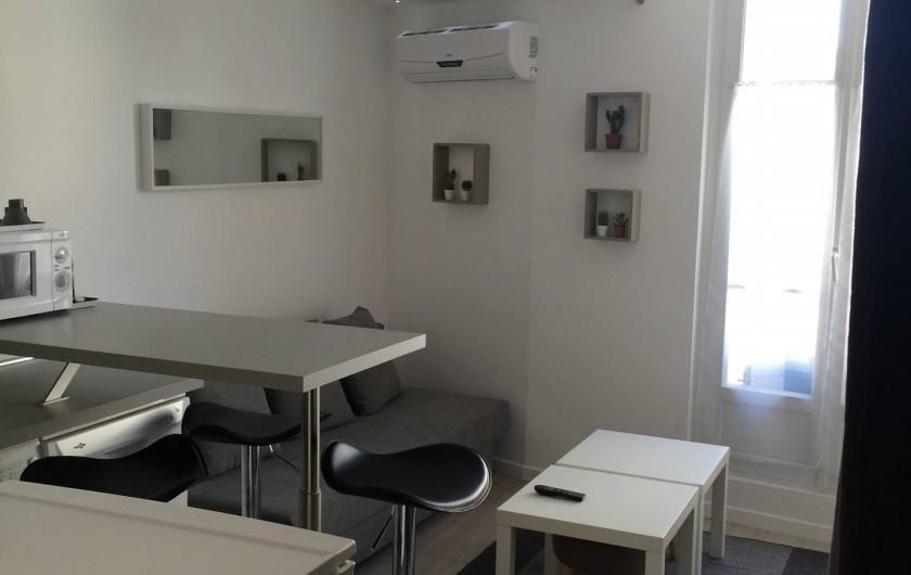 Location de vacances - Studio à Cannes - coin salon