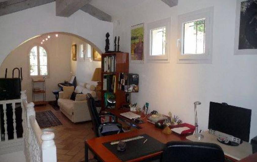 Location de vacances - Maison - Villa à Auriol - Mezzanine Bureaux, Fitness, Piano