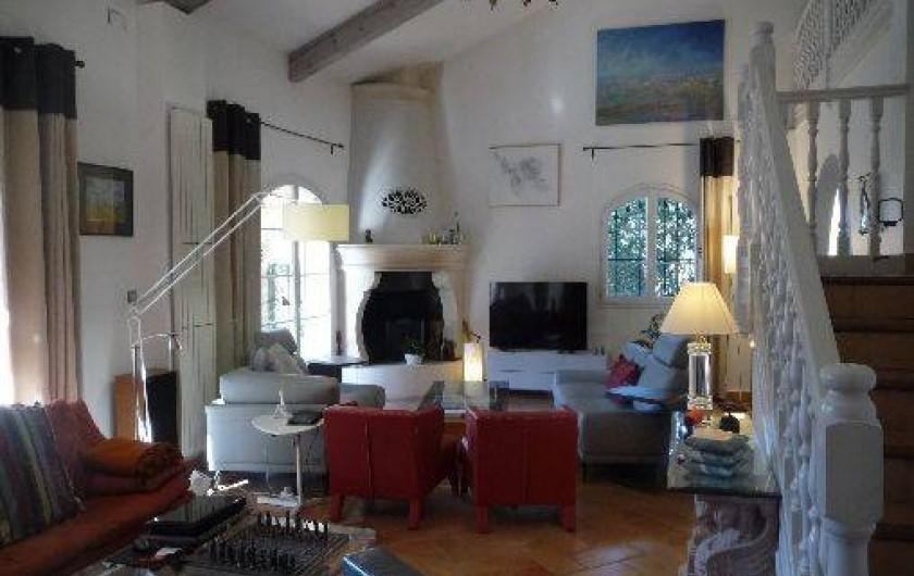 Location de vacances - Maison - Villa à Auriol - Salon