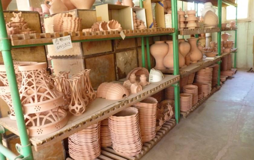 Location de vacances - Studio à Gréoux-les-Bains - La faïence artisanale
