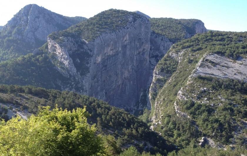 Location de vacances - Studio à Gréoux-les-Bains - Les Gorges du verdon