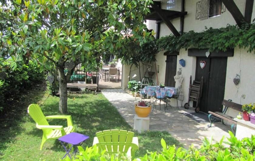 Location de vacances - Appartement à Arandon - ENTREE DU GÎTE