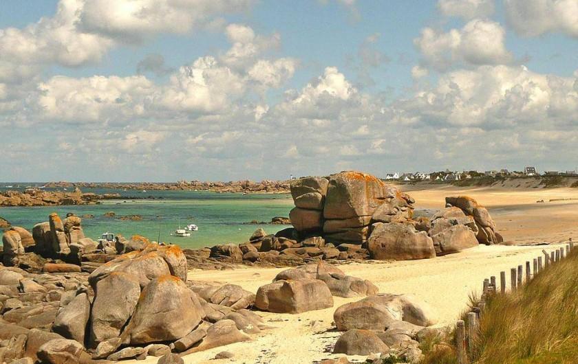 Location de vacances - Gîte à Kerlouan - La côte