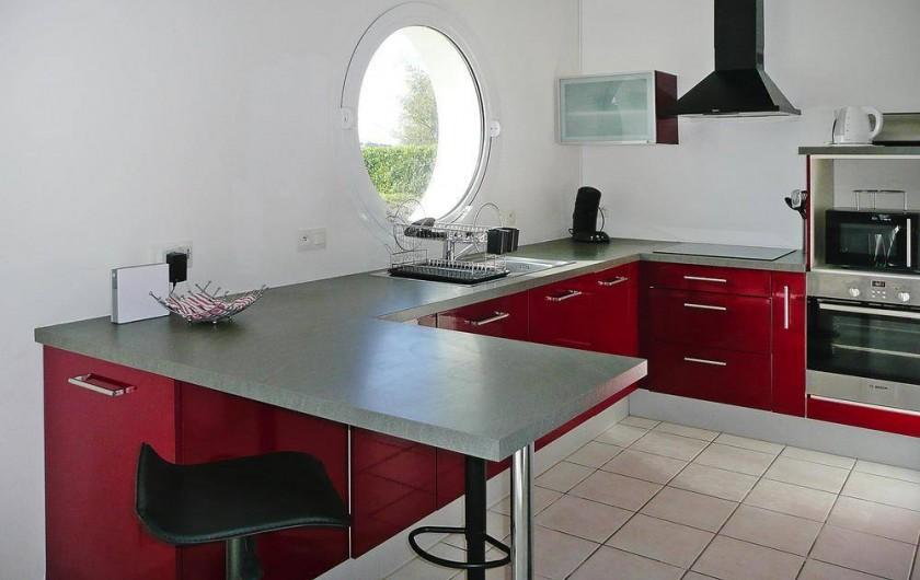 Location de vacances - Gîte à Kerlouan - La cuisine