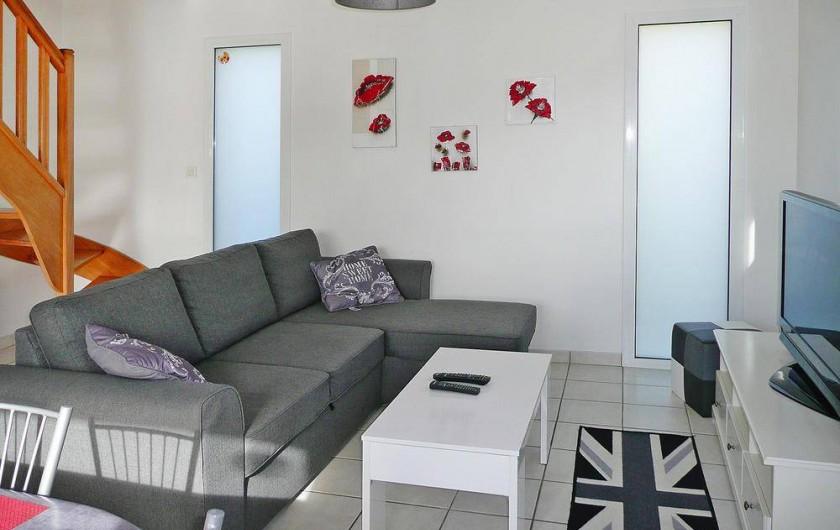 Location de vacances - Gîte à Kerlouan - Le Salon Canapé convertible 2 Places