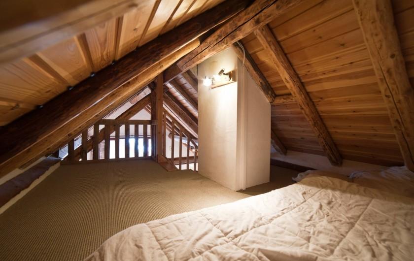 Location de vacances - Appartement à Albiez-le-Vieux - mezzanine