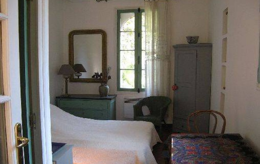 Location de vacances - Appartement à Collioure - chambre du capitaine