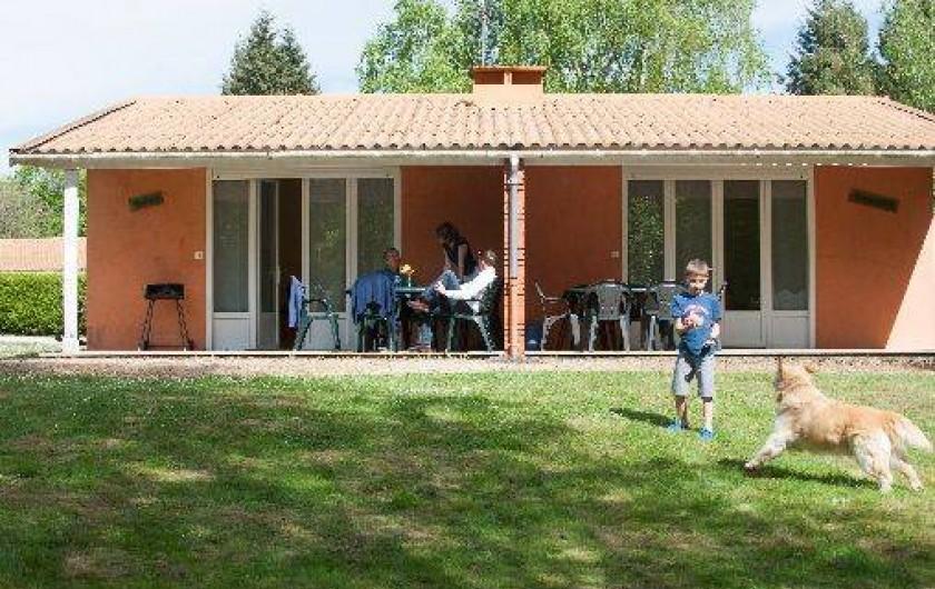 Location de vacances - Gîte à Sauzé-Vaussais