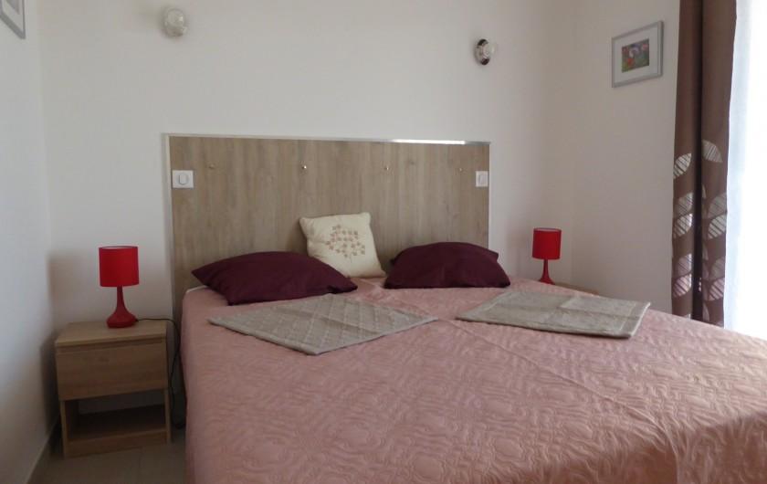 Location de vacances - Gîte à Mirepeisset - Chambre 1