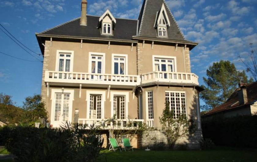 Location de vacances - Chambre d'hôtes à Salies-de-Béarn - la villa Hortebise