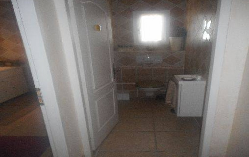 Location de vacances - Villa à Alès - Toilettes rez de chaussée