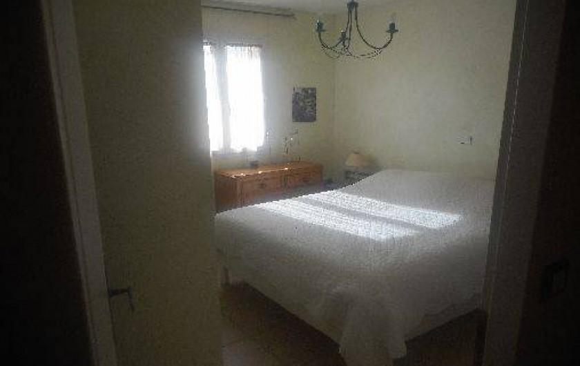 Location de vacances - Villa à Alès - Chambre à coucher rez de chaussée