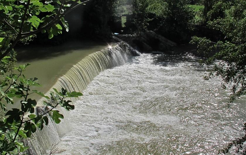 Location de vacances - Gîte à Saint-Hippolyte-du-Fort - sauter dans la cascade