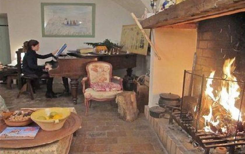 Location de vacances - Gîte à Saint-Hippolyte-du-Fort - living room