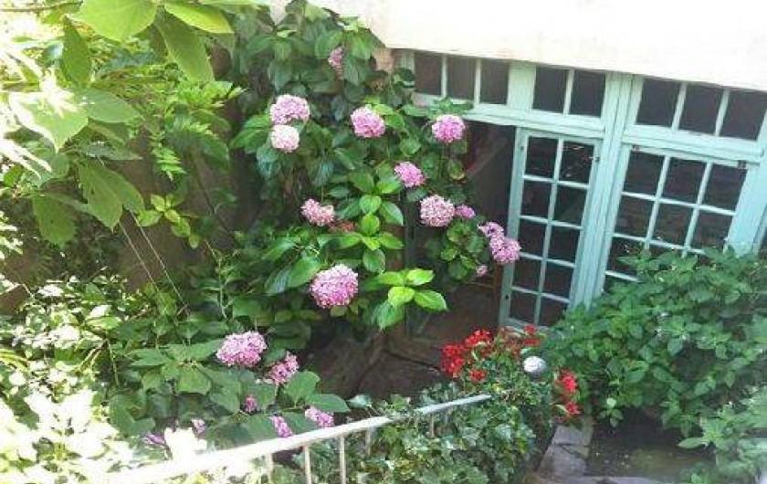Location de vacances - Gîte à Saint-Hippolyte-du-Fort - jardin intérieur
