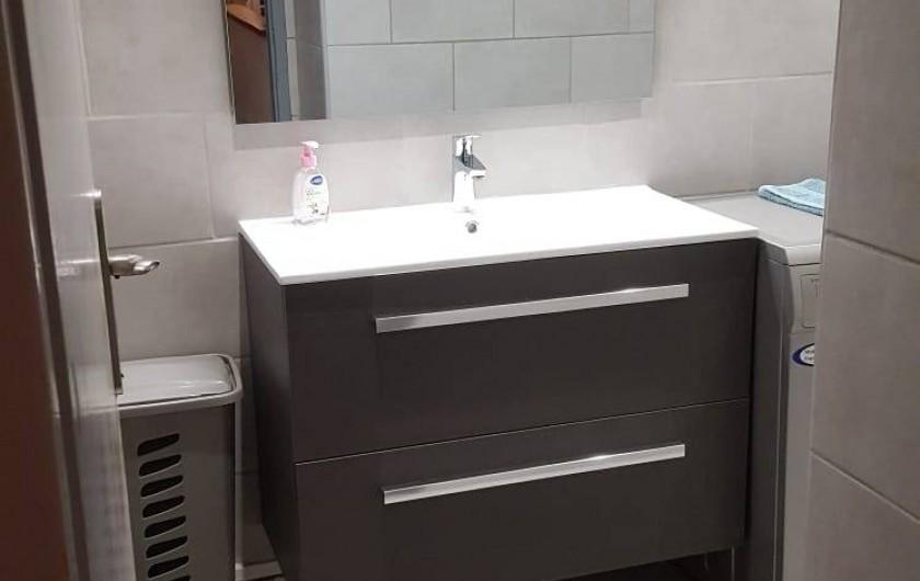 Location de vacances - Appartement à Nice - Le lavabo