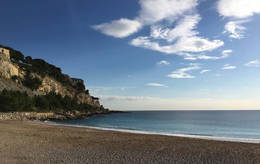 Location de vacances - Appartement à Cassis - La plage